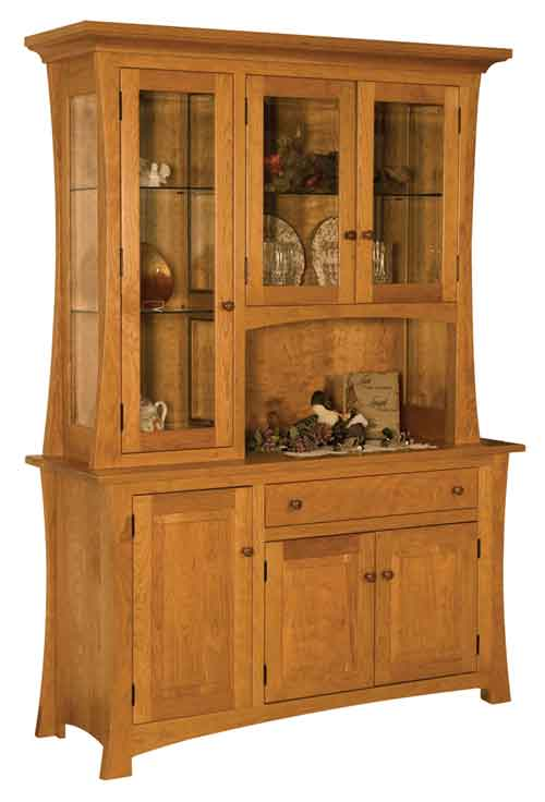 Amish Arlington China Cabinet